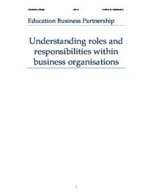 social responsibilities of businesses essay How social responsibility can contribute to  environmental and social responsibilities are built into performance evaluation and  businesses.