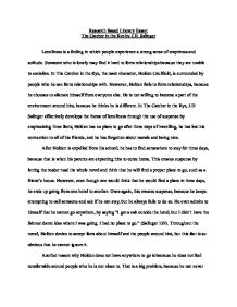 Persuation Paper  Elitamydearestco Persusive Essay Loneliness In The Catcher In The Rye Persuasive
