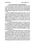 Argumentative Essay Thesis What Are The Consequences Of Societal Multilingualism Good High School Essays also Thesis Of An Essay English As A World Language  Alevel English  Marked By Teacherscom Thesis Generator For Essay
