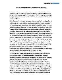 mrs dalloway study guide pdf