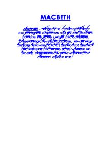 pity macbeth essay There are reasons to pity and not to pity macbeth here are my rough draft topic sentences for both pity: macbeth deserves to be pitied because he was.