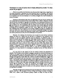 Coriolanus essay questions