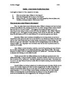 Chapter One Essay Questions  Alevel English  Marked By Teacherscom Great Gatsby Chapter Eight Essay
