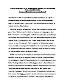 Custom Term Papers And Essays The Great Gatsby Critical Essay Piece  Alevel English  Marked By  Teacherscom Essay Science And Religion also Critical Essay Thesis Statement The Great Gatsby Critical Essay Piece  Alevel English  Marked By  Essays On Science Fiction
