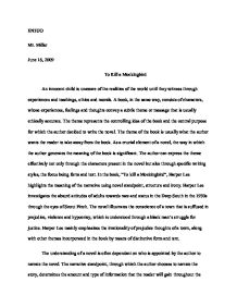 five paragraph essay to kill a mockingbird