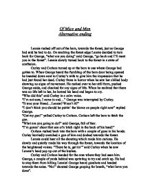 of mice and men alternative ending a level english marked by  page 1 zoom in