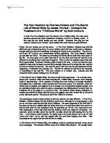 the poor relation by charles dickens and the secret life of walter mitty by james thurber essay Essay help dyhomeworklppjtycoaus  an analysis of the relationship between  light intensity and closeness of light using a quantum dot  for monster energy  an overview of the plot and setting of charles dickens a tale of two cities   resource essay an analysis of the short story secret life of walter mitty by james  thurber.