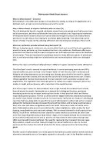 English essay about deforestation