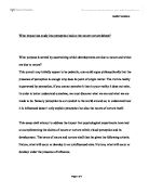 Human impact on the ecosystem essay
