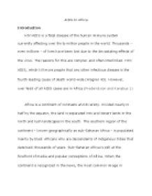Essay based on china population control