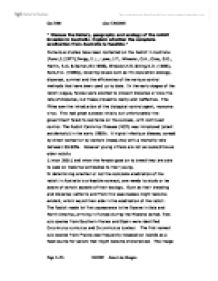 settlement or invasion essay The british invasion of australia convicts: exile and dislocation exploration and settlement of the continent beganv the invasion of australia by the.