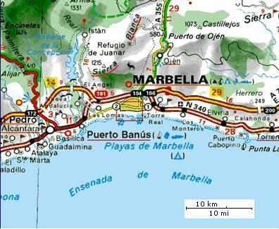 For my Travel and Tourism coursework I have chosen Marbella as my