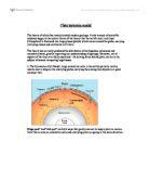 plate tectonics theories analysis