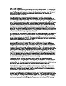 the mid-tudor crisis essay The view that there was a crisis in face of combination of weak rulers, number of financial and economic problems, a series of rebellions, religious reformations, and foreign policy failures in the middle years of the sixteen century was first implicit in the writings of influential historians, such as af pollard and st bindoff and first explained by wrd jones in his book 'the mid-tudor crisis 1539-1563.