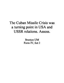 Modest Proposal Essay The Cuban Missile Crisis Was A Turning Point In  English Essay Pmr also English Essays The Conclusion Of The Missile Crisis Was Absolute Proof That The  Pay Someone To Write My Literature Review