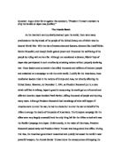 Atomic bomb justification essay Marked by Teachers