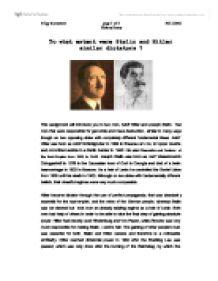 introduction to hitler essay