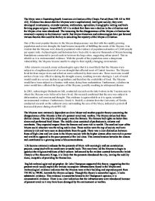 decline american education essay A research on the decline of the american education due to a rising tide of mediocrity pages 3 words sign up to view the complete essay show me the full essay.