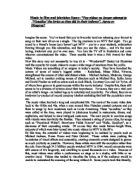 plagiarism and cheating essay