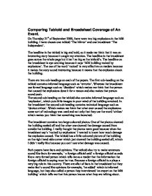 comparing coverage in the independent essay Compare and contrast transition words what are compare and contrast transition wordsbefore you can understand what they are, you should know the use of transition words and phrases first.