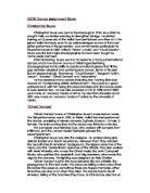 piano and drums by gabriel okara essay