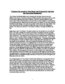 """growing up by joyce cary essay This extract corresponds to the last three paragraphs of the short story """"the dead"""", taken from the fifteen-story book """"the dubliners"""" by james joyce."""