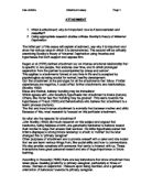 bowlbys attachment theory essay Summaries and links to full-text or articles and books by john bowlby john bowlby: attachment theory across generations 4-minute clip from a documentary film used.