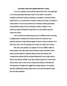 essay mental disorders  Papers Free Essays     Help Me