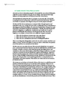 explain the theory of virtue ethics essay