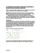 osmosis concentration and potato tissue Essay about osmosis and hypertonic potato cores 2015 macroscopic osmosis in potato tissue salt concentration potato mass before solution potato mass.