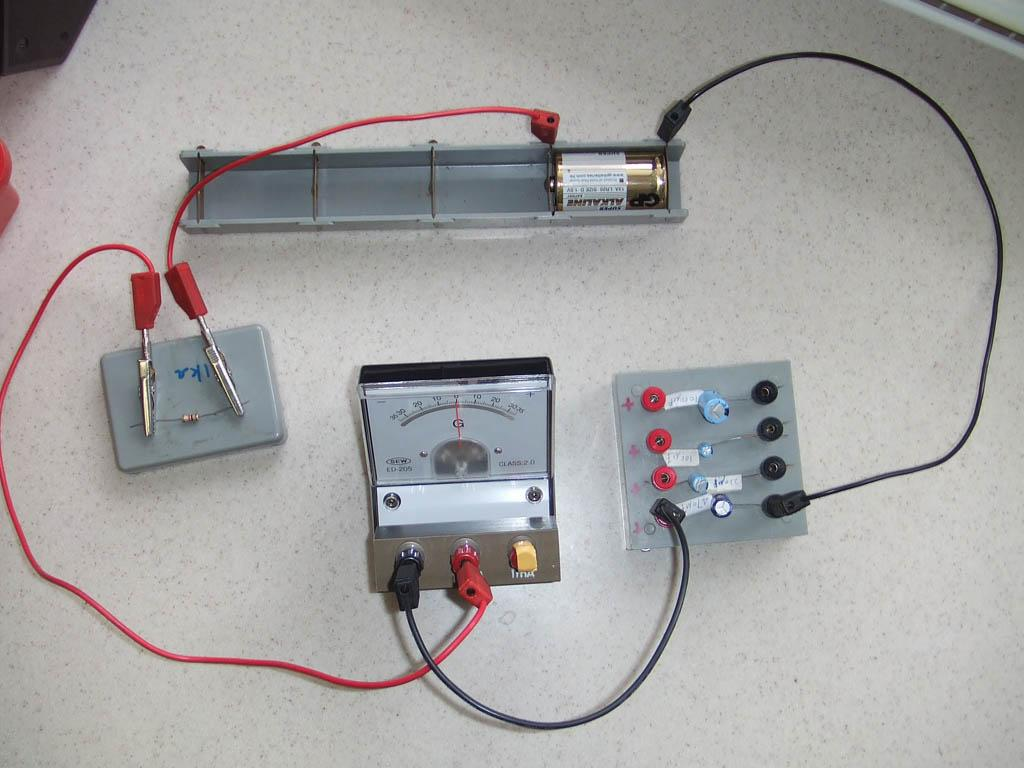 charging and discharging of capacitor project file