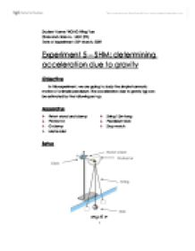research paper acceleration due gravity Acceleration due to gravity lab report this lab was designed to calculate the acceleration of gravity using the smart timers the theory predicts that g = cacm/so.