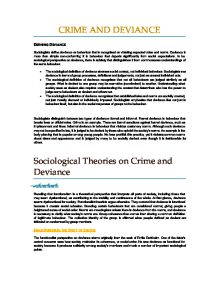 All past paper essay questions for Crime and Deviance - Document in A ...