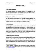 report on tesco location essay