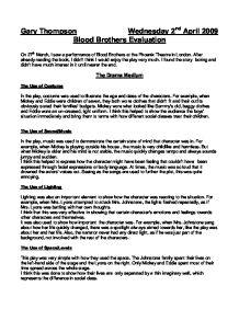 Drama blood brothers essay typer