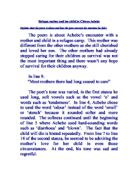 Refugee mother and child chinua achebe essay