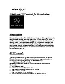 Swot analysis of mercedes benz company