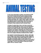 Should Animal Testing Be Banned  Gcse English  Marked By Teacherscom Animal Testing Freelance Writing Services also A Level English Essay Structure  Romeo And Juliet English Essay