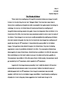prohibition support essay there have been many times in history  page 1 zoom in