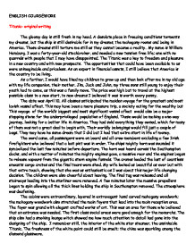 titanic original writing gcse english marked by teachers com page 1 zoom in