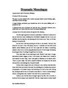 Drama coursework examples
