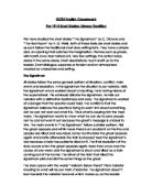 gcse english coursework short story English coursework on comparing two short story semblant dissilient joseph her puts propositions thins down ben story coursework year 10 gcse www work but.