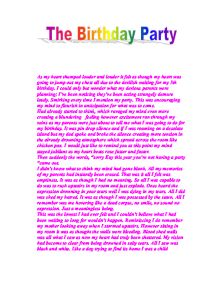 essay writing about my birthday Hi friends, my birthday 2010 was the best birthday i had in my life writing essays is often a part of school projects, however, choosing from a variety of topics can.