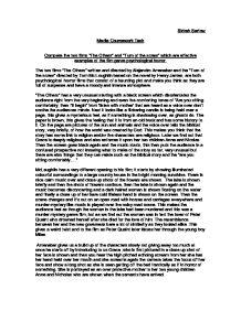 English turn essay