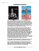 Comparing two ads essay