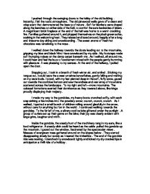descriptive essay ski lodge i pushed through the swinging doors  page 1 zoom in