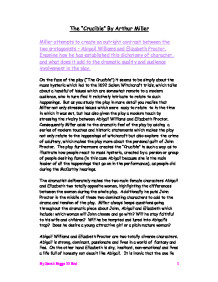 create an outright contrast between the two protagonists abigail  page 1 zoom in
