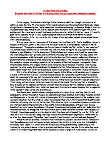Drammatic essay