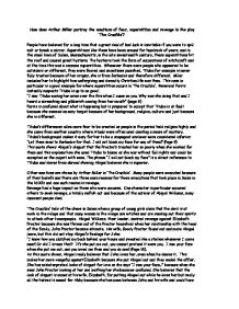 the principles of revenge in the crucible a play by arthur miller Extracts from this document introduction how does arthur miller portray the emotions of fear, superstition and revenge in the play 'the crucible'.