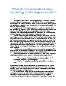 an inspector call essay introduction Although you might gesture at this question in your introduction, the fullest answer to it properly belongs at your essay's end if you leave it out, your readers will experience your essay as unfinished—or, worse, as pointless or insular.